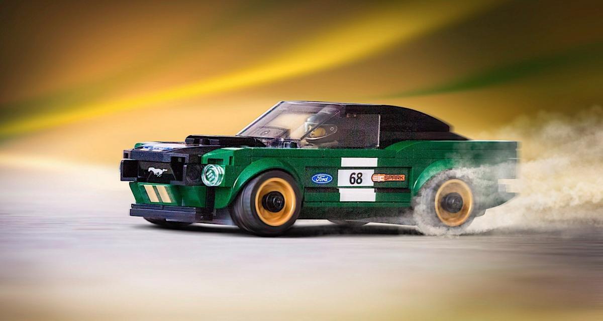 La Ford Mustang de Steve McQueen maintenant en Lego