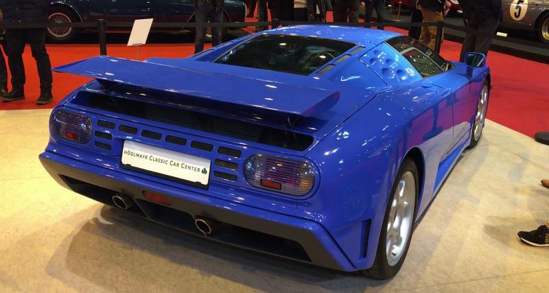 Rétromobile 2018: Bugatti EB110 Super Sport (1995)