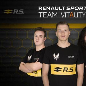 Renault fait ses débuts dans l'eSport grâce au Team Vitality