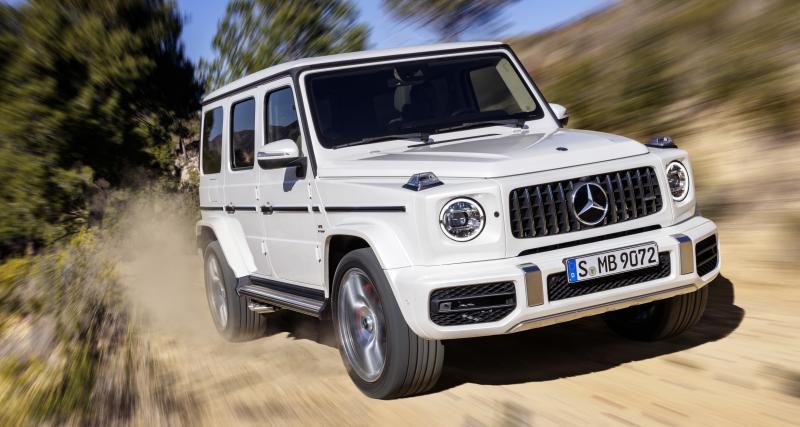 Mercedes-AMG G 63: un cas à part