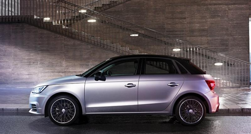 Audi A1 Midnight Series : l'A1 à 210€/mois