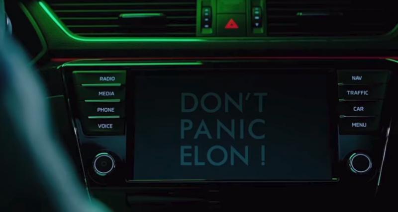 """''Don't Panic Elon"""", ce n'est qu'un coup de comm'"""