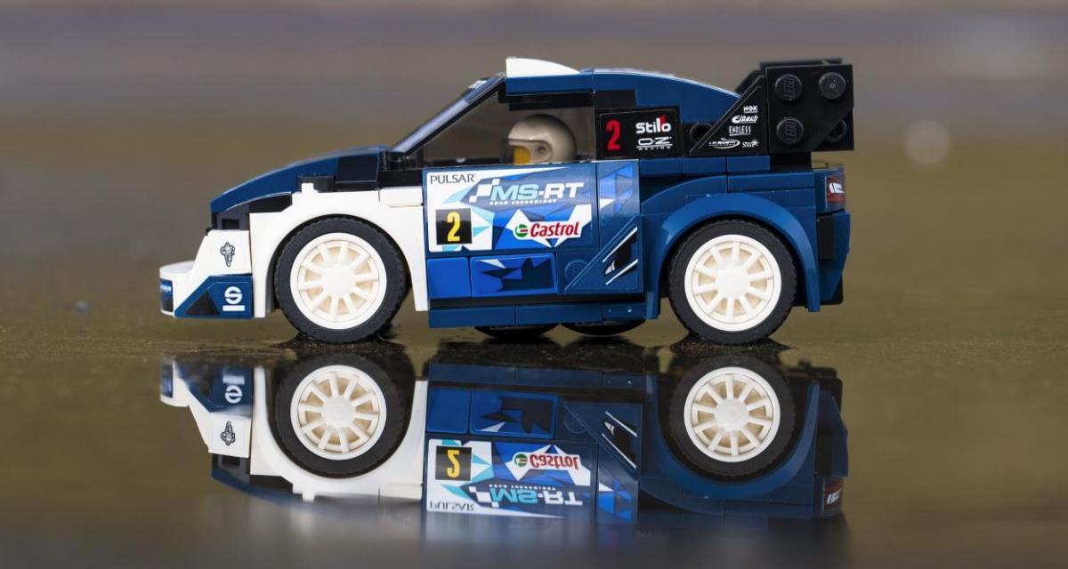 Offrez-vous la Ford Fiesta WRC de Sébastien Ogier en Lego