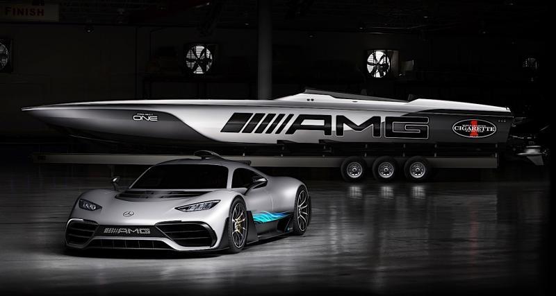 La Mercedes-AMG Project One devient une terreur des mers