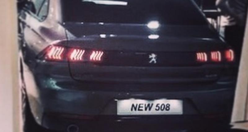 Peugeot 508 2 : dernière photo avant la présentation jeudi ?