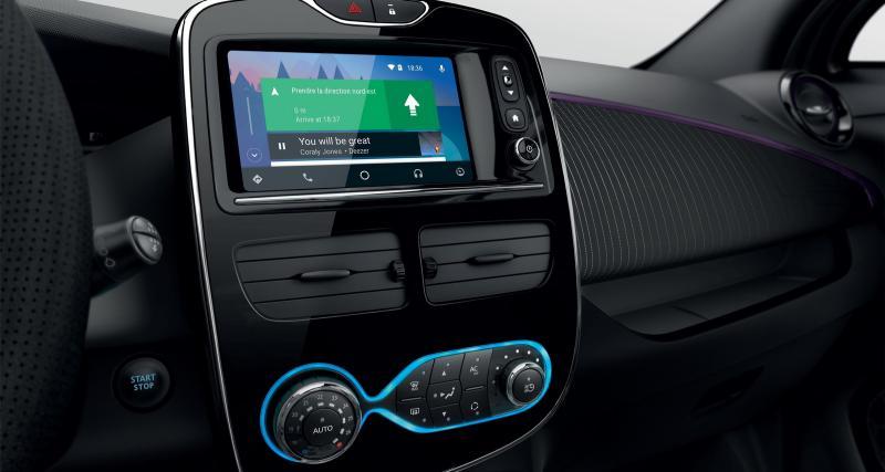 Une nouvelle teinte et Android Auto font leur arrivée