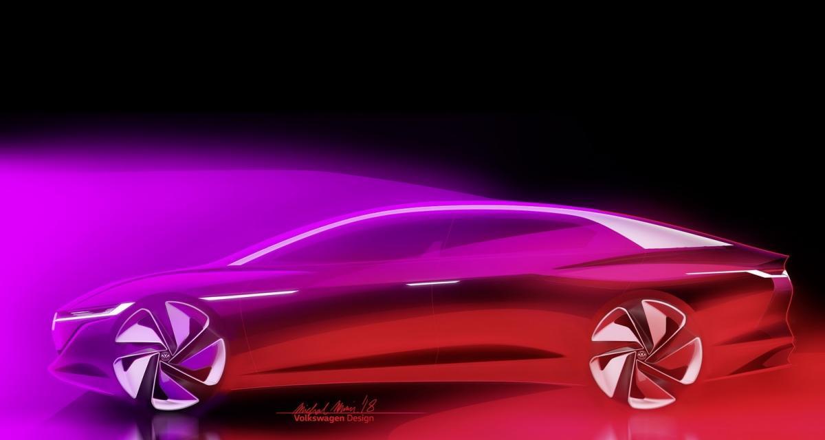 Volkswagen I.D. Vizzion Concept : enfin une VW électrique pour concurrencer Tesla ?