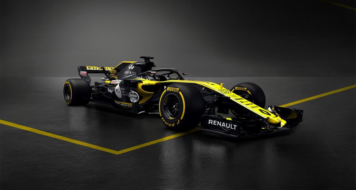 Renault R.S.18 : la F1 pour revenir au sommet