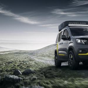 Peugeot Rifter 4x4 Concept : l'utilitaire aventurier