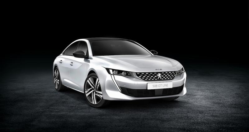 Peugeot 508 (2018) : les photos officielles de la berline