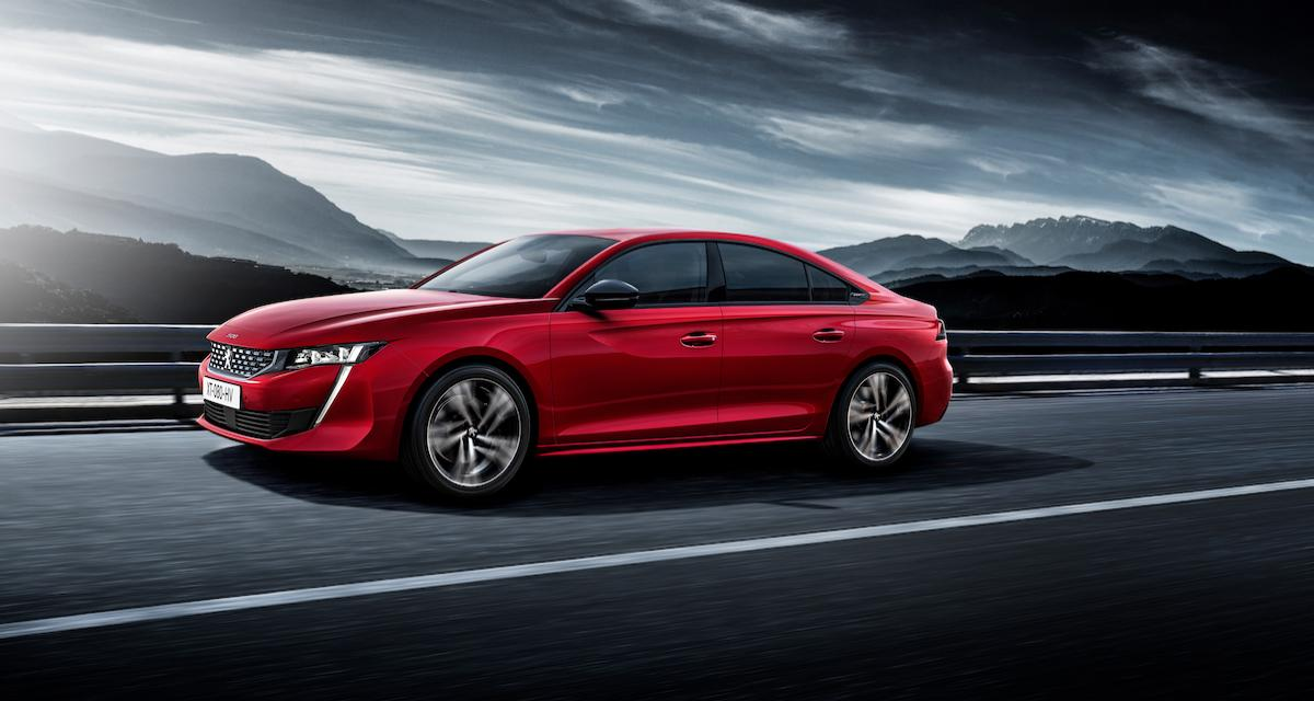 Peugeot 508 GT : les photos officielles de la version 2018