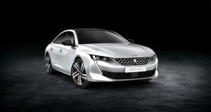 Peugeot 508 GT Line : les photos officielles de la version 2018