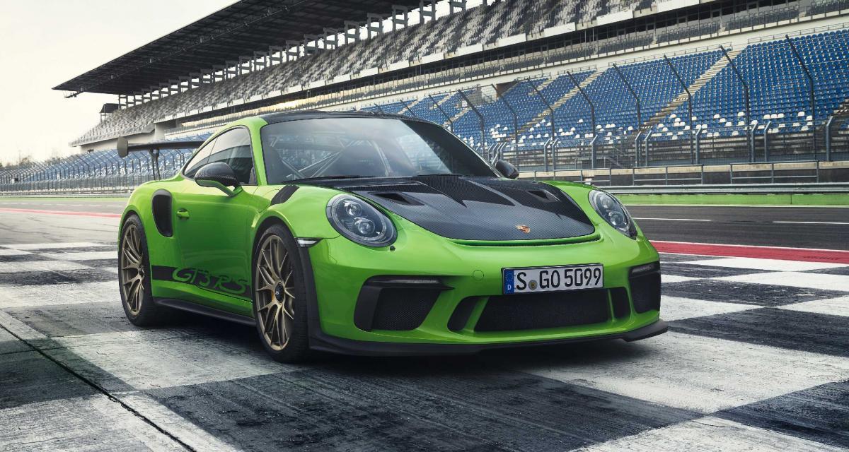 Porsche 911 GT3 RS 2018 : la plus puissante des 911 atmo