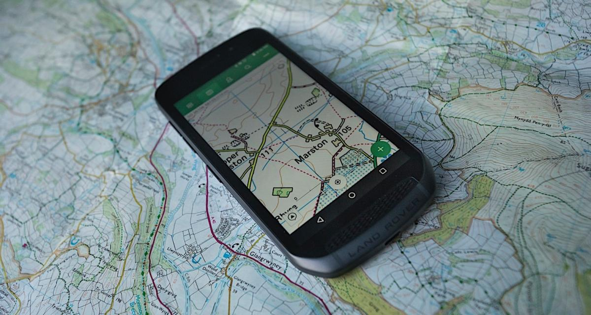 Land Rover dévoile son smartphone... indestructible !
