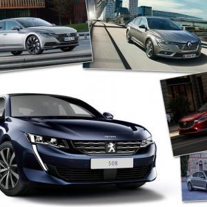 La nouvelle Peugeot 508 face à ses concurrentes