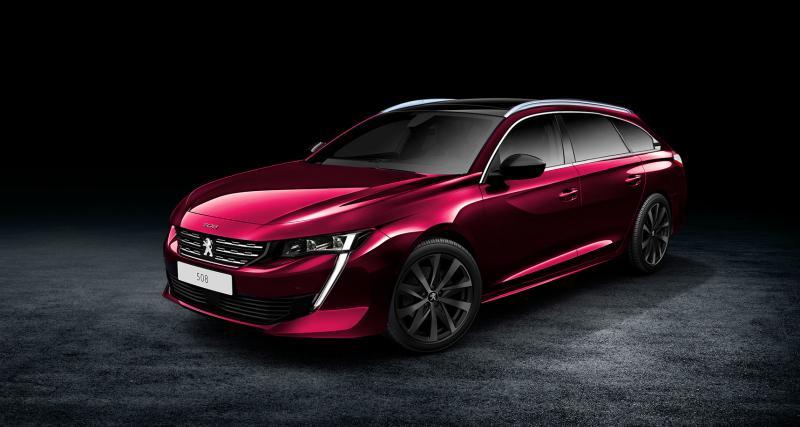 Peugeot 508 2 : les versions SW et RXH déjà imaginées