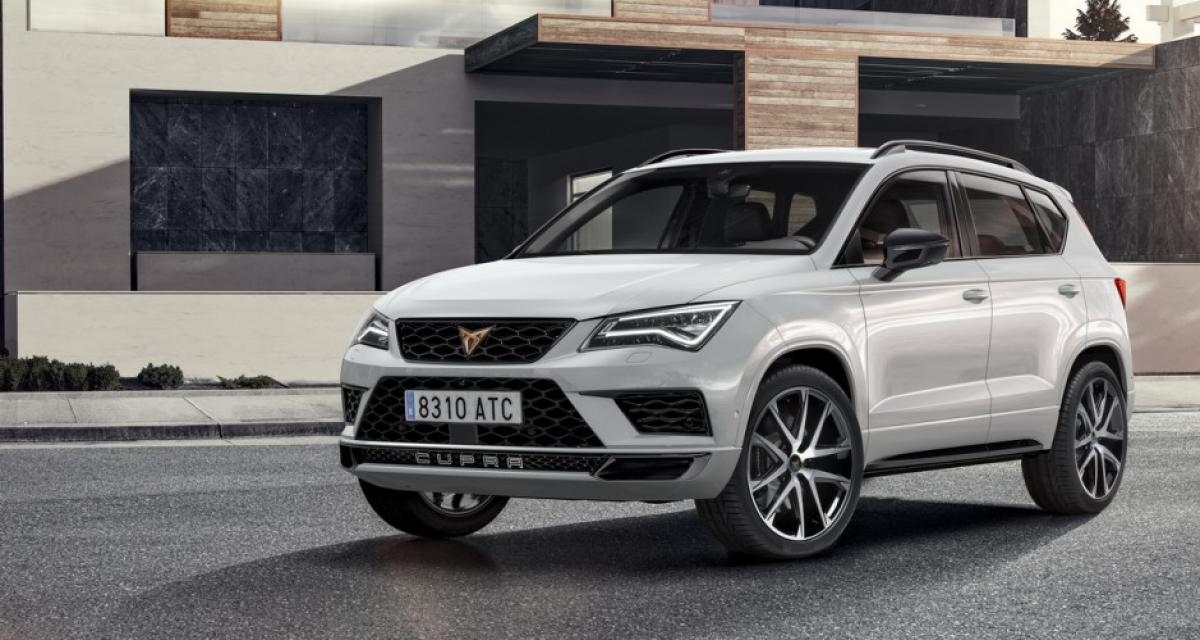 seat ateca cupra il sera gen ve en bonne compagnie. Black Bedroom Furniture Sets. Home Design Ideas