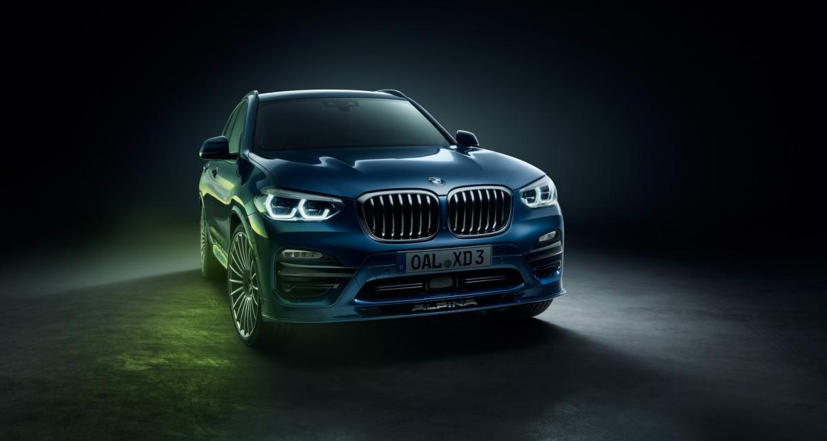 Alpina XD3 : 4 turbos pour le BMW X3