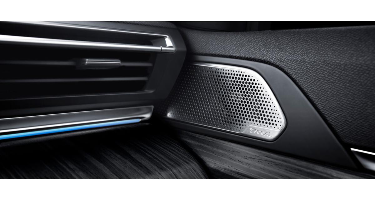 Focal réalise le système hi-fi premium de la nouvelle Peugeot 508