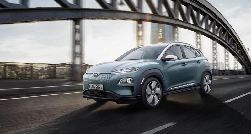 Hyundai Kona Electric : jusqu'à 204 ch et 470 km d'autonomie
