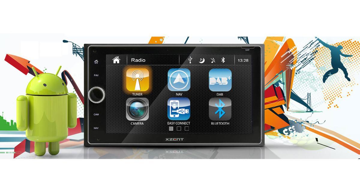 Xzent commercialise un nouvel autoradio multimédia pour Smartphone Android