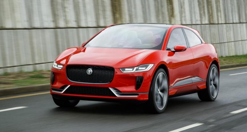 Jaguar I-Pace : présentation prévue pour demain