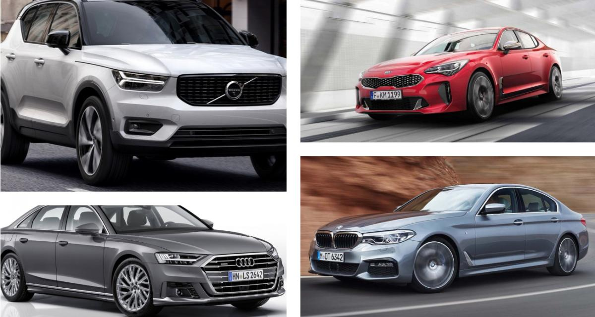 European Car of the Year 2018 : la liste des nominées