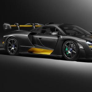 L'hommage de la McLaren Senna... à Senna !