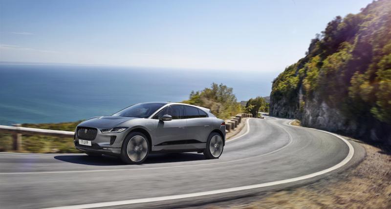 Jaguar I-Pace : découvrez le SUV électrique en photo