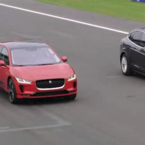 Jaguar I-Pace vs. Tesla Model X : un duel aux résultats surprenants