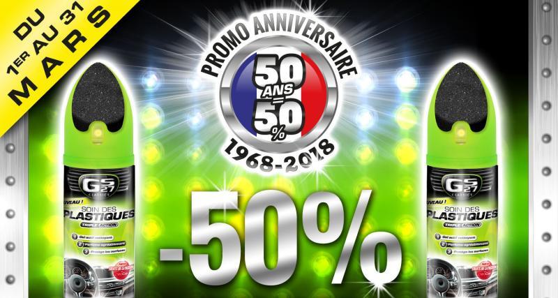 GS27 fête ses 50 ans avec des offres spéciales