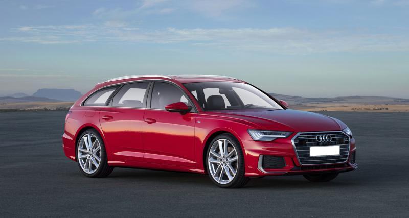 Nouvelle Audi A6 : un avant-goût des versions Avant et Allroad
