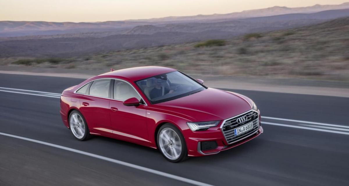 Salon de Genève : Audi A6 2018, suite logique (vidéo)