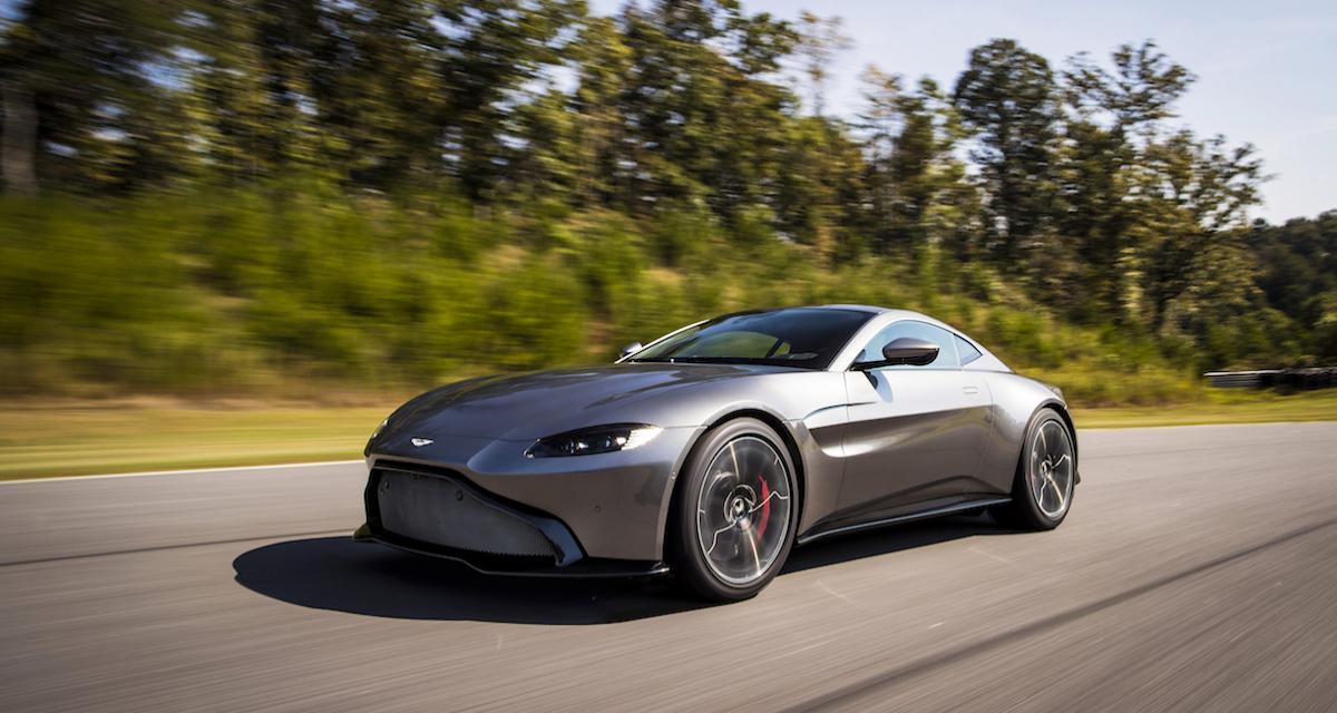 Salon de Genève : Aston Martin Vantage 2018, God save the Queen