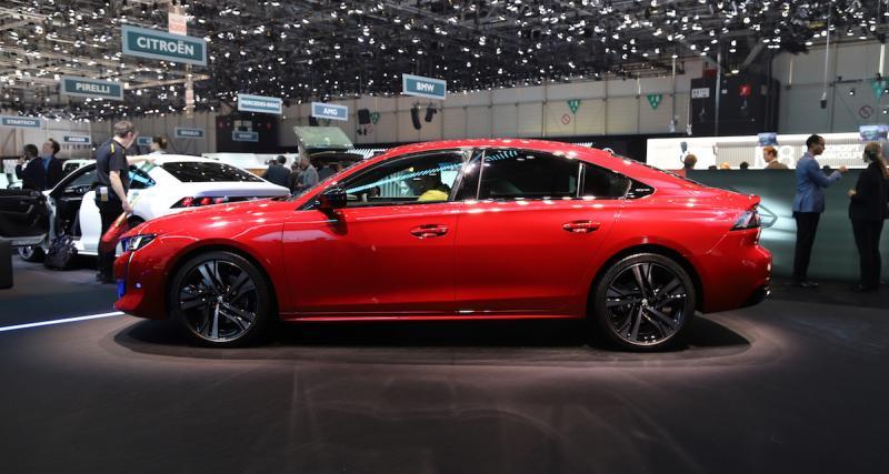 Salon de Genève : Peugeot 508 2018, retour aux affaires (photos et video)