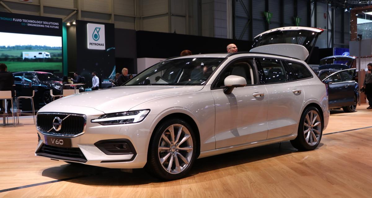 Salon de Genève : Volvo V60 2018, le charme scandinave (photos et vidéo)
