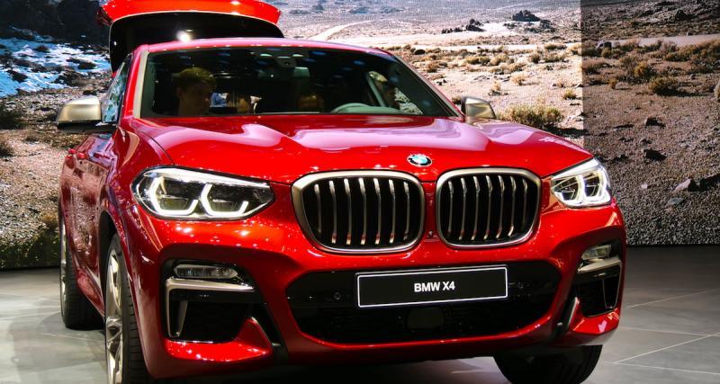 Salon de Genève 2018 : BMW X4, il fait déjà peau neuve (photos et vidéo)