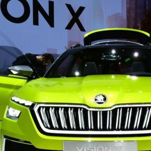 Salon de Genève 2018 : Skoda Vision X, bientôt un SUV urbain chez Skoda (photos et vidéo)