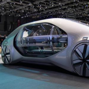 Salon de Genève : Renault EZ-GO, la navette urbaine du futur