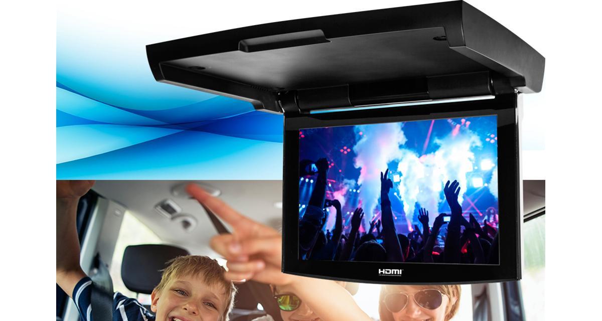 Clarion commercialise un nouvel écran plafonnier avec entrées HDMI en Asie