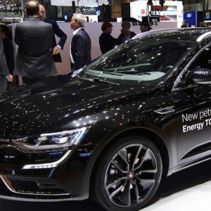 Renault Talisman S-Edition : nos photos depuis le salon de Genève
