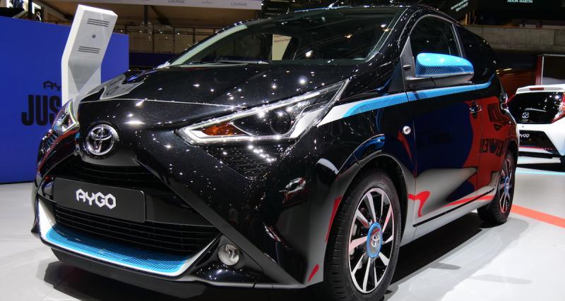 Salon de Genève 2018 : Toyota Aygo restylée, mise à jour en douceur (photos