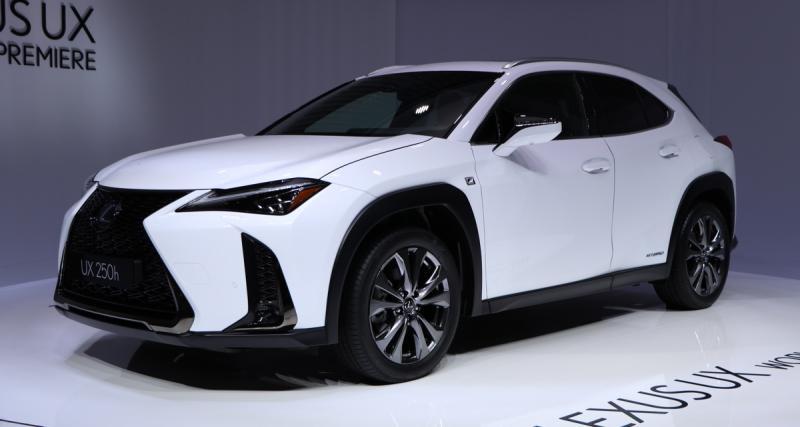 Lexus UX : les photos du SUV depuis le salon de Genève