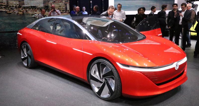 Salon de Genève 2018 : Volkswagen ID Vizzion, le concept anti-Tesla (photos et vidéo)
