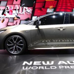 Toyota Auris 2018 : nos photos depuis le salon de Genève