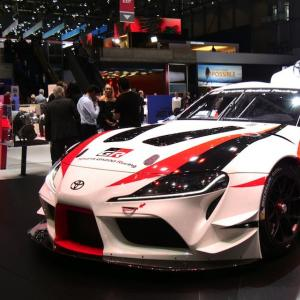 Toyota GR Supra Racing Concept : nos photos depuis le salon de Genève