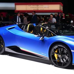 Lamborghini Huracan Performante Spyder : photos et vidéo depuis le salon de Genève