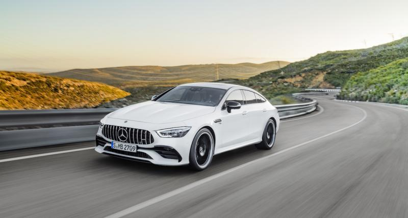 Mercedes-AMG GT Coupé 4 portes : la berline sportive en photo