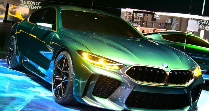 BMW Concept M8 Gran Coupé : photos et vidéo depuis le salon de Genève