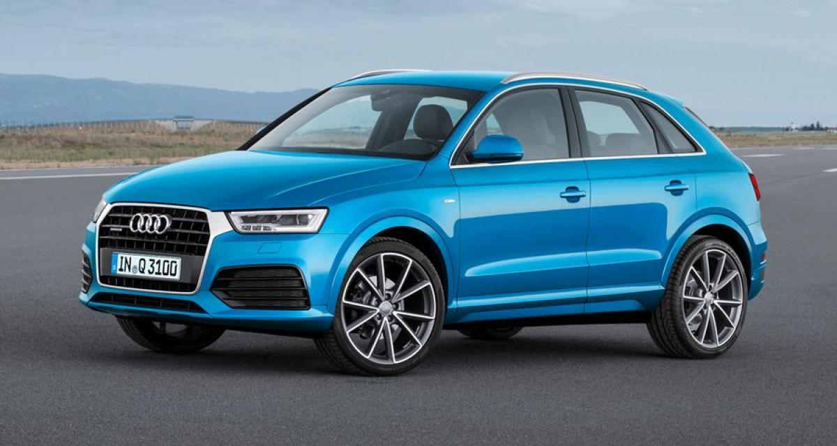 Des airbags à risque sur l'Audi Q3
